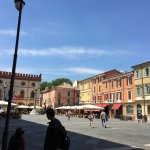 Main square in Ravenna