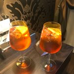 Welcome Spritz offered to us upon arrival