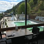 Relaxing view from the Ktunaxa Grill