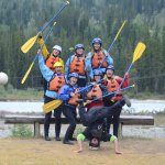 Pre-rafting photo of our crew.