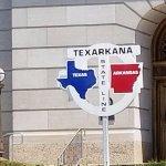 Texas-Arkansas State Line