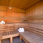 Relax in our onsite Sauna!