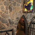 Hidden entrance to the Blue Ox Bar at Timberline Lodge