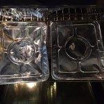 "two 10"" x 13"" pans, plus on small round tin. Seriously? $140???"