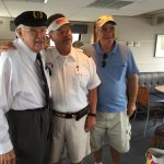 Our party host with Captain and Lighthouse Guide