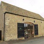 The Old Barn Tearoom in Wadenhoe (22/Aug/17).