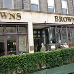 Brown's Restaurant in Edinburgh, Scotland