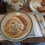 Coconut, almond pancakes. Special.