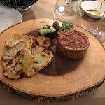 A perfect steak tartare.
