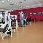 Gym (small dumbbell section)