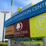 Our downtown hotel is located next to the Spokane Convention Center.