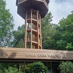 The park office has an observation tower open to visitors.