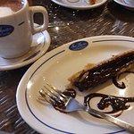 chocolate marmoleado
