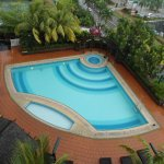Hotel Swimming pool located at 4th Floor Tower B