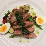 Jones Winery Restaurant beef cooked sous vide