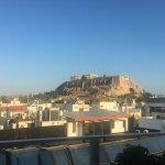 7th floor room balcony Acropolis view