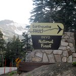 Earthquake Fault, Mammoth Lakes, Inyo National Forest, Ca