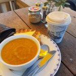 Awesome food and coffee
