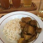 Aubergine & Butterbean Curry