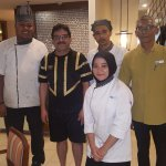 Great Chef & excellent serving team