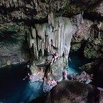 Bonita cueva y ¡además te bañas!