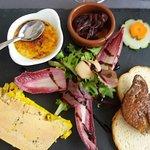variation autour du foie gras en entrée