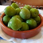 Lovely Nocarella olives. Tough but looks great.