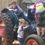 Tractor a fab idea!
