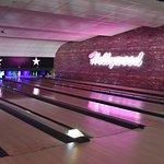The lanes at Hollywood Bowl Bolton