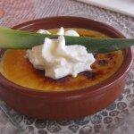 crème brûlée aux daims