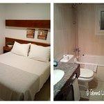 Baño amplio y habitación un poco justa