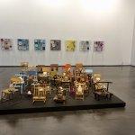 Part of Daniel Spoerri exhibit