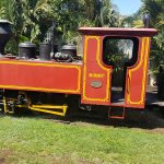 Steam train operates weekends