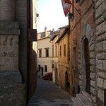 Street off main square where Meuble il Riccio is located.