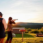 The historic Shooting Club offers trap, skeet, five-stand and sporting clays.