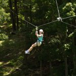 The Ridge Runner Zip Tour includes 8 zip lines spanning more than 4,000 ft.