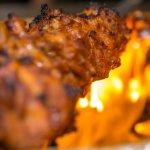 Live churrasco barbecue