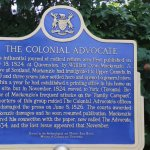 The Colonial Advocate