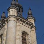 The bell tower of the Armenian church, Lviv