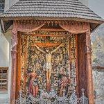 In the courtyard of the Armenian church, Lviv