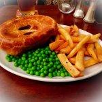Shortcrust steak and Ale pie
