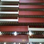 Vista interna dos andadres