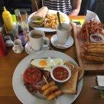 All Day Breakfast, Tempura Prawns, New York Melt.