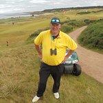 On the Kingbarns Golf course