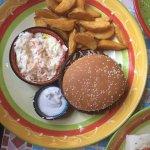 Burger mit Rinderhack