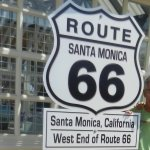 Route 66. The end
