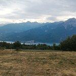 Tour du lac et vue sur Serre ponçon