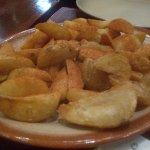 ...potato wedges