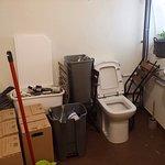Voici les toilettes de All Osteria de Sant Remy