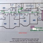 Ashburn Hotel floor plan (4th level)